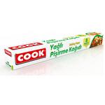 Cook Yağlı Pişirme Kağıdı 8 Metre 37 cm