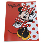 Minnie Mouse A4 60 Yaprak Çizgili Defter
