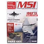 MSI Savunma Teknolojileri Dergisi 100.Sayı
