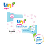 Uni Wipes Travel Pack 15'li