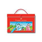 Faber Castell Redline Çantalı Pastel Boya 18'li