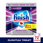 Finish Bulaşık Makinesi Deterjanı Quantum Tablet 72'li