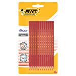 Bic Evolution Kırmızı Kalem 12'li