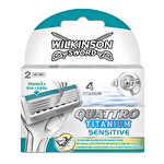 Wilkinson Quattro 2'li Yedek Bıçak