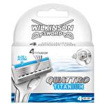 Wilkinson Quattro 4'lü Yedek Bıçak