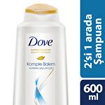 Dove 2si 1 Arada Normal Saçlar İçin Şampuan 600 ml