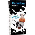Carrefour UHT Yağlı Süt 1 lt