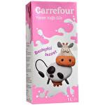 Carrefour UHT Yarım Yağlı Süt 1 lt