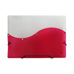 Umix A4 Koruk-Lastik Evrak Dosyası Kırmızı