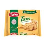 Torku Tam Buğdaylı Bisküvi 140 g 3'lü Avantaj Paketi