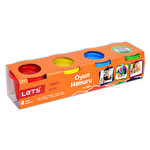 Lets 4 Renk Oyun Hamuru 300 G