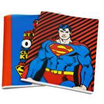 Superman Pp. A4 60 Yapraklı Çizgili Defter