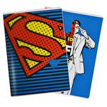 Superman Pp. A4 60 Yapraklı Kareli Defter