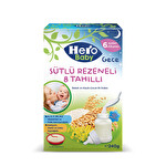 Hero Baby Sütlü 8 Tahıllı Rezeneli 240g