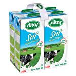 Sütaş Yarım Yağlı UHT Süt 4x1 L