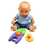 Aksesuarlı Sesli Bebek 26 cm