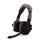 Snopy SN-R9 Siyah/Kırmızı Kulaklık