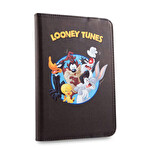 Addison 300789 7'' Siyah Looney Tunes Tablet Pc Kılıfı