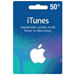 iTunes Hediye Kartı 50 TL