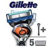 Gillette Fusion ProGlide FlexBall Tıraş Makinesi + 4'lü Tıraş Bıçağı