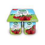 Sütaş Meyveli Yoğurt Vişne 4*115 g