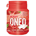 Ülker Oneo Çilek Aromalı Bottle Draje Sakız 60 g