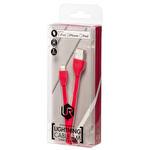 Trust Düz Lightning Kablo 1M (Apple İpad / Ipod / Iphone) - Kırmızı