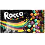 Rocco Rengarenk Meyve Aromalı Çiğnenebilir Draje Şeker 35 Gr