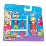 Polly Pocket Polly ve Renkli Kıyafetleri