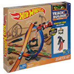 Hotwheels Track Builder Hızlı Yarış Oyun Seti