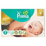 Prima Bebek Bezi Premium Care 2 Beden Mini Dev Ekonomi Paketi 120 Adet