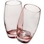 Paşabahçe Barrel Pembe Meşrubat Bardağı 3'lü
