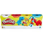 Play-Doh Hamur 4'lü