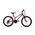 """Dream 24"""" Tek Amort. 21V Bisiklet Kırmızı"""