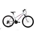"""Dinamica Dream 24"""" Tek Amort. 21V Bisiklet Beyaz"""
