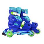 Busso YX-109 Işıklı Çocuk Pateni Mavi 31-34