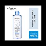 L'oreal Paris Micellar Makyaj Temizleme Suyu Normal ve Karma Cilktler 400 ml