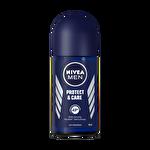 Nivea Protect&Care Roll-On Deodorant 50Ml Erkek