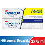 Ipana 3 Boyutlu Beyazlık Luxe Diş Macunu Perfection Mükemmel Beyazlık 75 ml