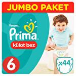Prima Pants Külot Bebek Bezi 6 Beden Ekstra Large Jumbo Paket 44 Adet