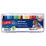 Lets 18Li Plastik Çantalı Pastel Boya