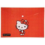 Hello Kitty Şeffaf Zarf Dosta A4