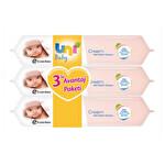 Uni Baby Cream Islak Mendil 3'lü
