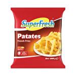 Superfresh Patates 1000 g