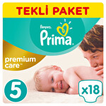 Prima Premium Care Junior Tekli Paket 18'li