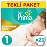 Prima Premium Yenidoğan Tekli Paket 22'li