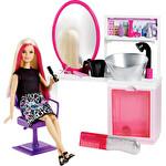 Barbie Kuaför Salonu Oyun Salonu Seti