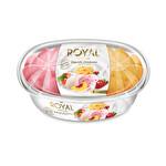 Royal Special Yoğurtlu Dondurma Çilek Sade Şeftali 900 ml