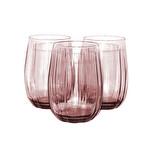 Paşabahçe Linka 420405 Pembe Su Bardağı 3'lü