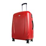 CCS-5132 ABS Valiz 65 cm Kırmızı
